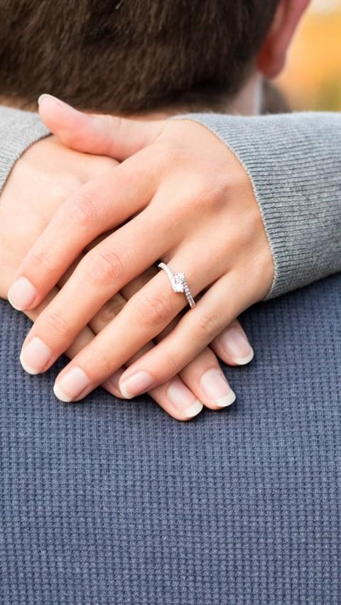 förlovningsring vigselring kombination